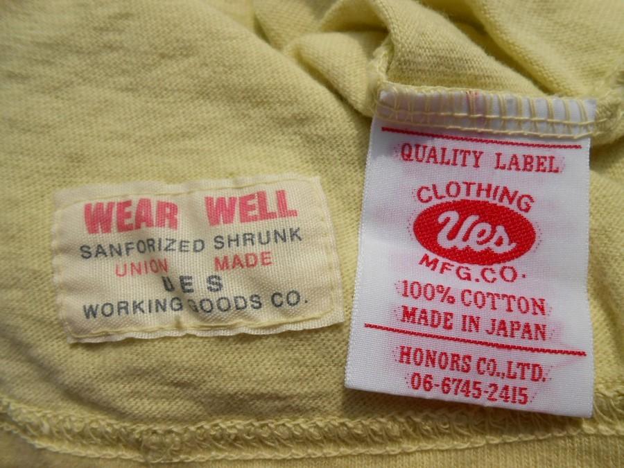 UES ウエス 半袖 プリント Tシャツ 2 M 製品染め ICE CREAM イエロー 黄 アイスクリーム THE CRACKER ザクラッカー _画像6