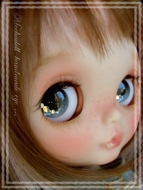 mocha doll*Blythe eye * スワシェルアイ *Light Gray * * 0913j_画像3