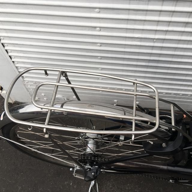 YA046 Panasonic ビビBUDDY ブラック 8AH 26インチ 充電器付属 電動アシスト自転車【横浜】_画像5