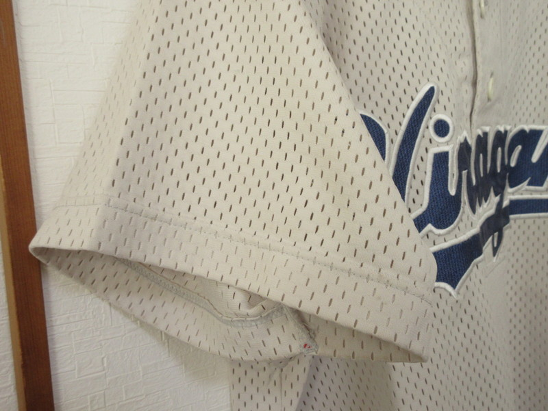高校野球 平塚学園高校 野球部 ユニフォーム シャツ XOサイズ 中古品_画像5