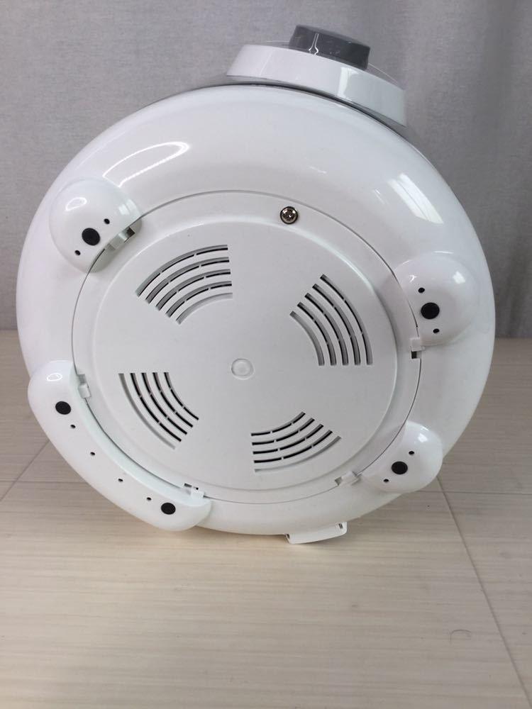 100s 未使用 ALCOLLE アルコレ プレッシャークッカー 圧力式電気鍋 APC-T19/W 圧力鍋 2015年製 家庭用 3.0L 家電 電気 調理器具 箱付き_画像5