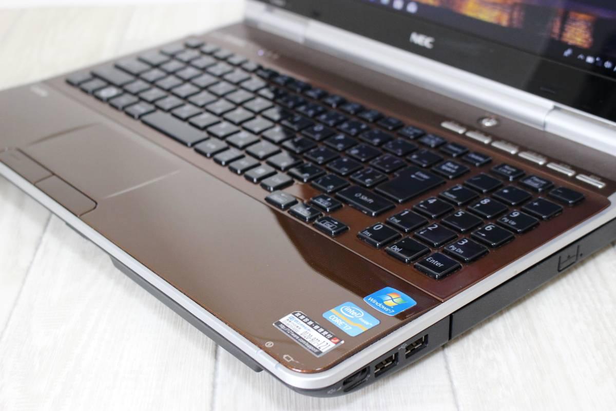 【新品SSD960GB メモリ8GB☆Core i7】NEC LL750/F◆win10☆Office☆Blu-ray☆USB3.0☆YAMAHAスピーカー☆送料無料☆1円スタート♪_画像4