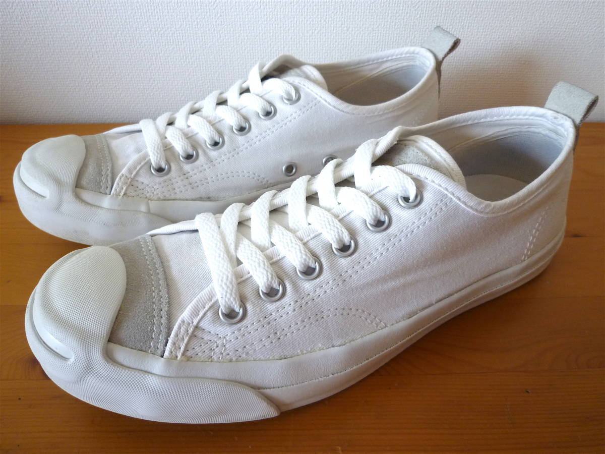 CONVERSE Jack Parcell コンバース ジャックパーセル ホワイト〈 25.5cm 〉美品