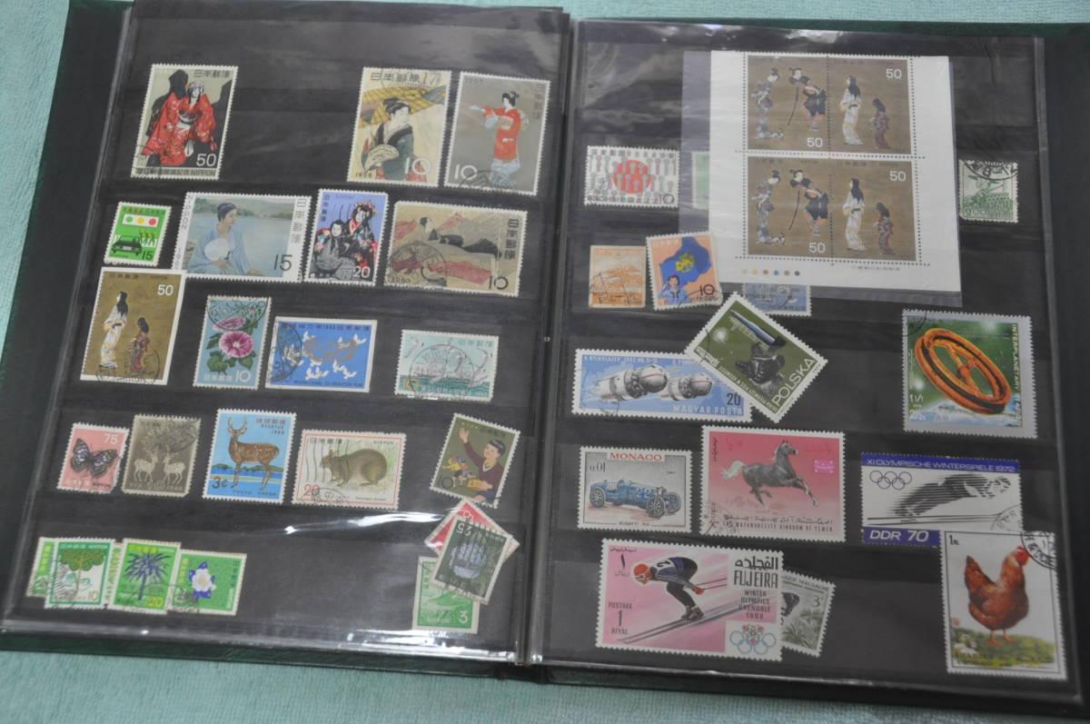 ☆切手 未使用 使用品 外国切手も一部あるかも バラ 大量 記念切手 昭和 ①☆_画像8