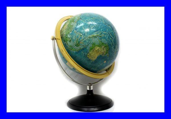 ●中古品 大きな地球儀 立体地球儀 球径30cm 世界地図 ソビエト連邦の頃 クツワ株式会社製 Z2228_画像1