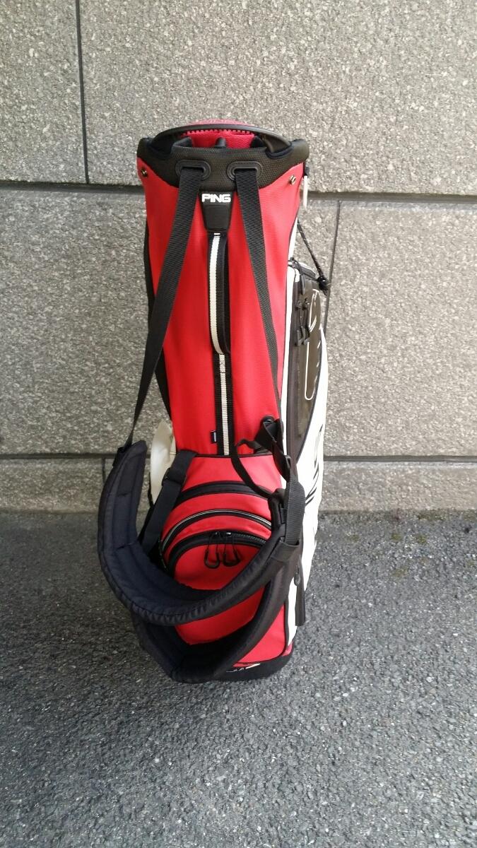 PING Hoofer14 STAND BAG ピン フーファー14 スタンドバッグ RED/WHITE/BLACK_画像2