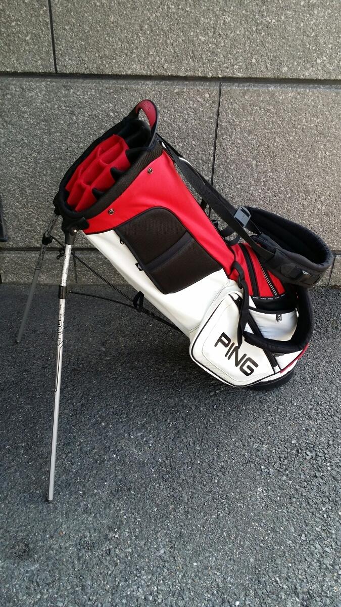 PING Hoofer14 STAND BAG ピン フーファー14 スタンドバッグ RED/WHITE/BLACK_画像6