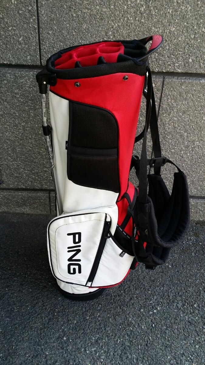 PING Hoofer14 STAND BAG ピン フーファー14 スタンドバッグ RED/WHITE/BLACK_画像7