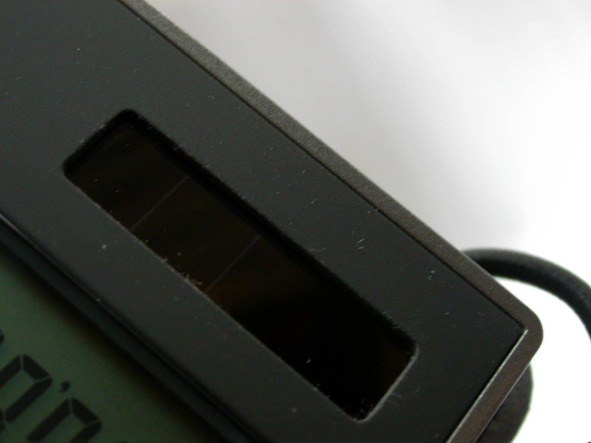 送料無料 匿名取引 amadana 電卓 レザーケースセット (ブラック) LC-704-BK 中古良品_画像5