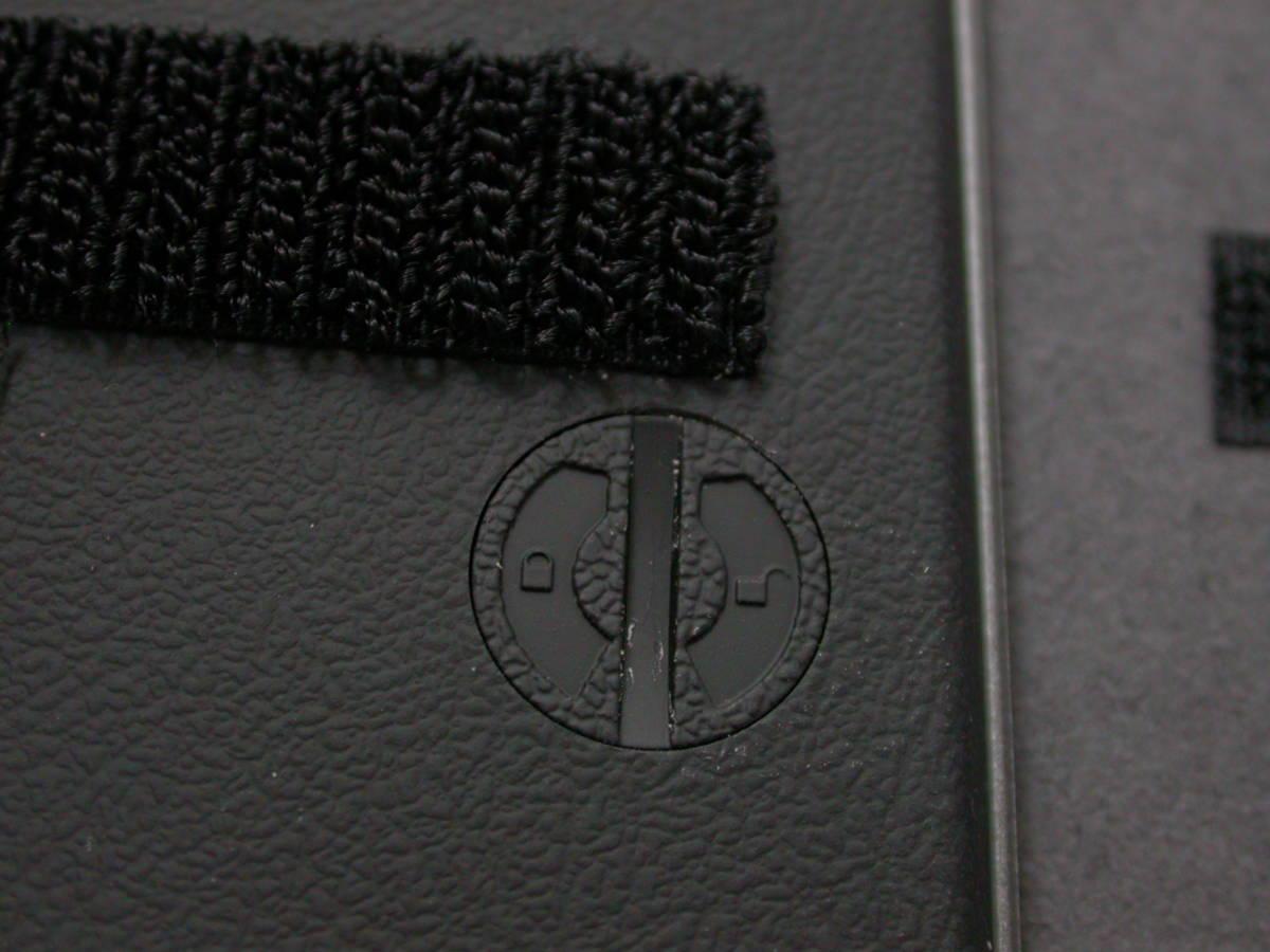 送料無料 匿名取引 amadana 電卓 レザーケースセット (ブラック) LC-704-BK 中古良品_画像8