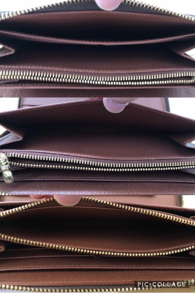 ★美品 ヴィトン モノグラム ジッピー オーガナイザー ラウンドファスナー ジップ 長 財布 本物 人気 カード 最落なし メンズ_画像7