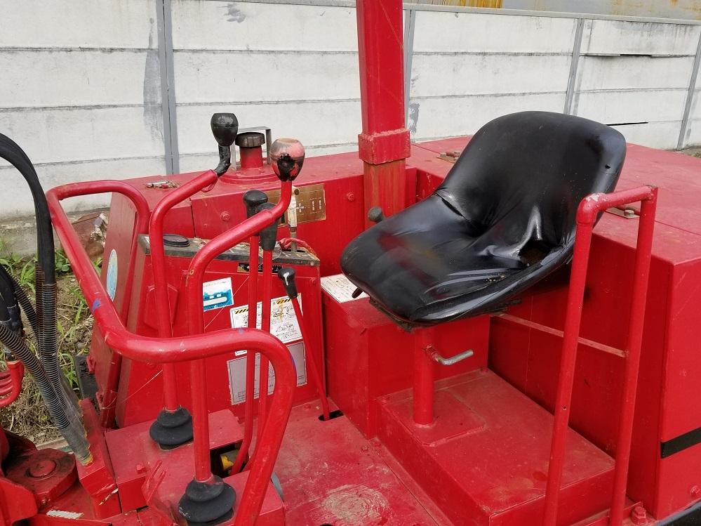 売切り 日産 N-11SS 油圧ショベル 2t NISSAN ユンボ 2トン 鉄シュー仕様 排土板 ディーゼル エンジン 1545時間_画像9