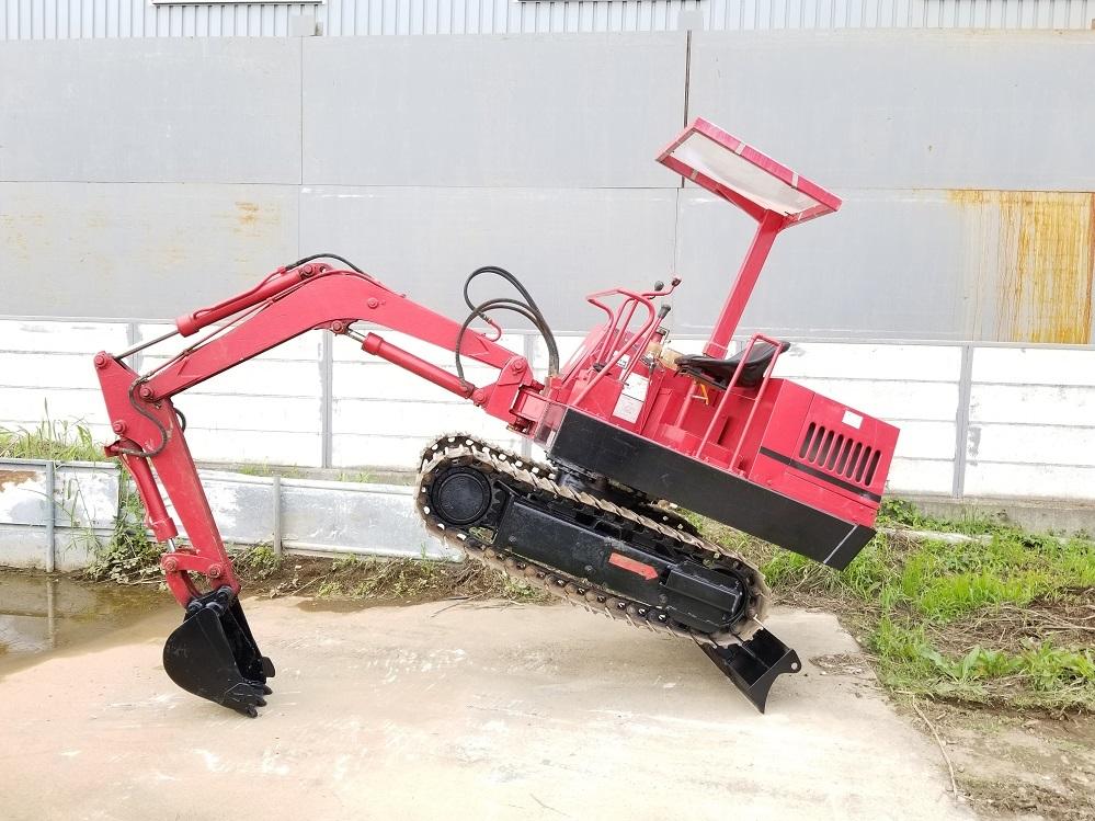 売切り 日産 N-11SS 油圧ショベル 2t NISSAN ユンボ 2トン 鉄シュー仕様 排土板 ディーゼル エンジン 1545時間_画像6