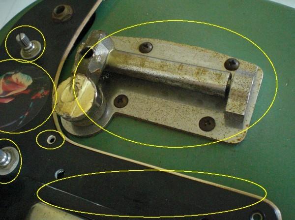 ヴィンテージとモダンのハイブリッド! 使える1960年代のジャパビンビザール系の1本 フルメンテ・クリーニング済 サンプル音有り_画像7