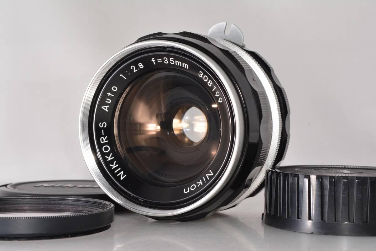 ニコン Nikon NIKKOR-S Auto 35mm F2.8 ★希少上級光学★ #h1063