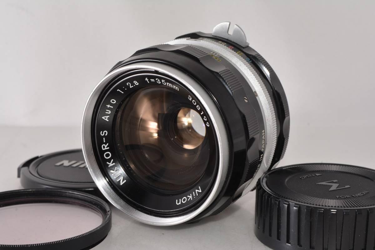 ニコン Nikon NIKKOR-S Auto 35mm F2.8 ★希少上級光学★ #h1063_画像2