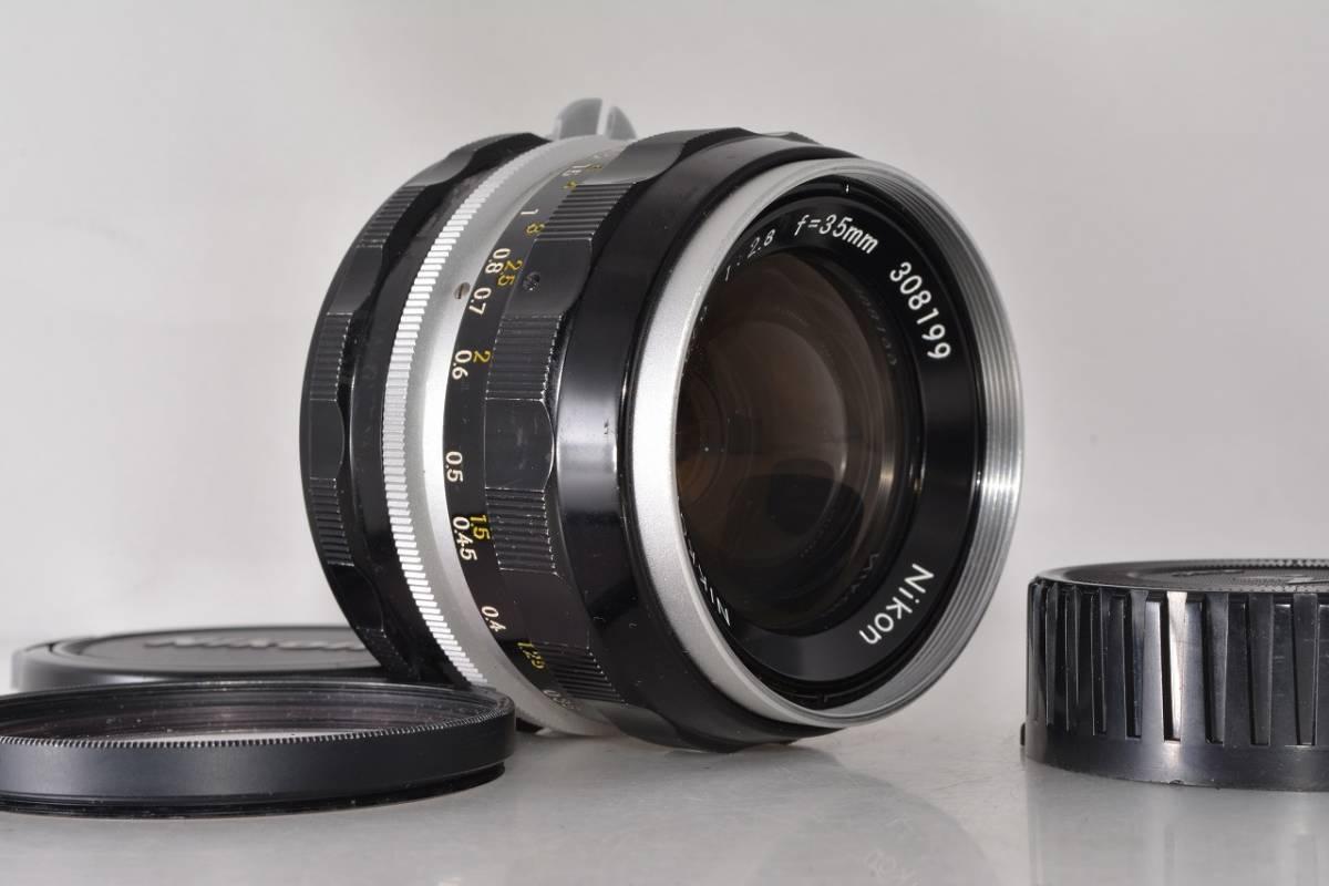 ニコン Nikon NIKKOR-S Auto 35mm F2.8 ★希少上級光学★ #h1063_画像3