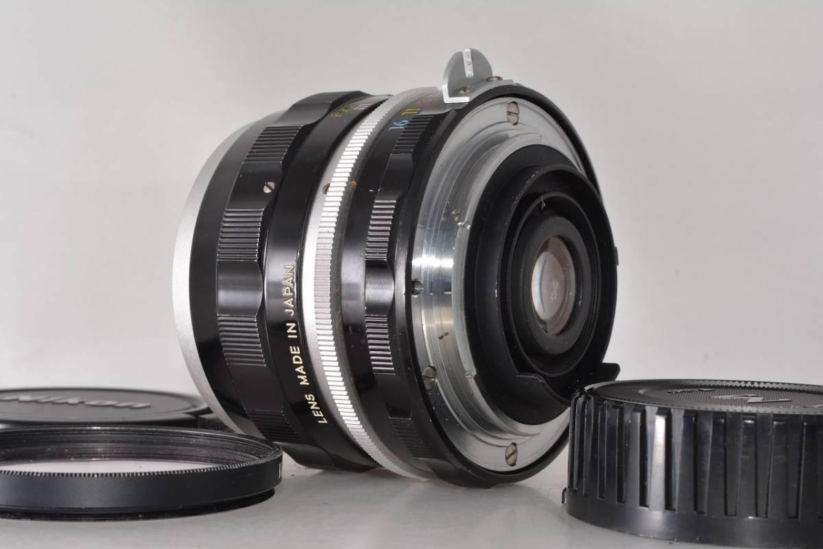ニコン Nikon NIKKOR-S Auto 35mm F2.8 ★希少上級光学★ #h1063_画像4