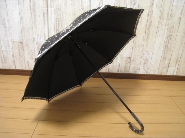 ■アナスイ 晴雨兼用日傘■USED サマーシールド 遮光 遮熱 UVカット ブランド傘 美品 プチパラ _画像5