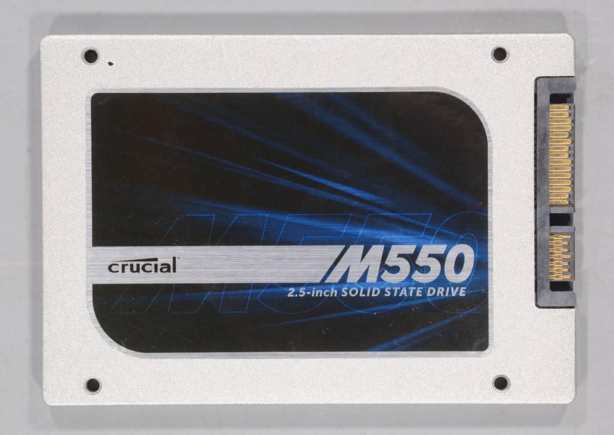 動作保証★SSD 2.5インチ内蔵 128GB Crucial M550 CT128M550SSD1★558