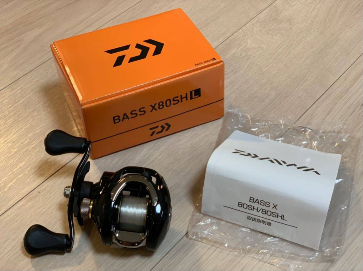f3d897f3e8f 【送料無料・使用1回】ダイワ BASS X 80 SHL バスX DAIWA