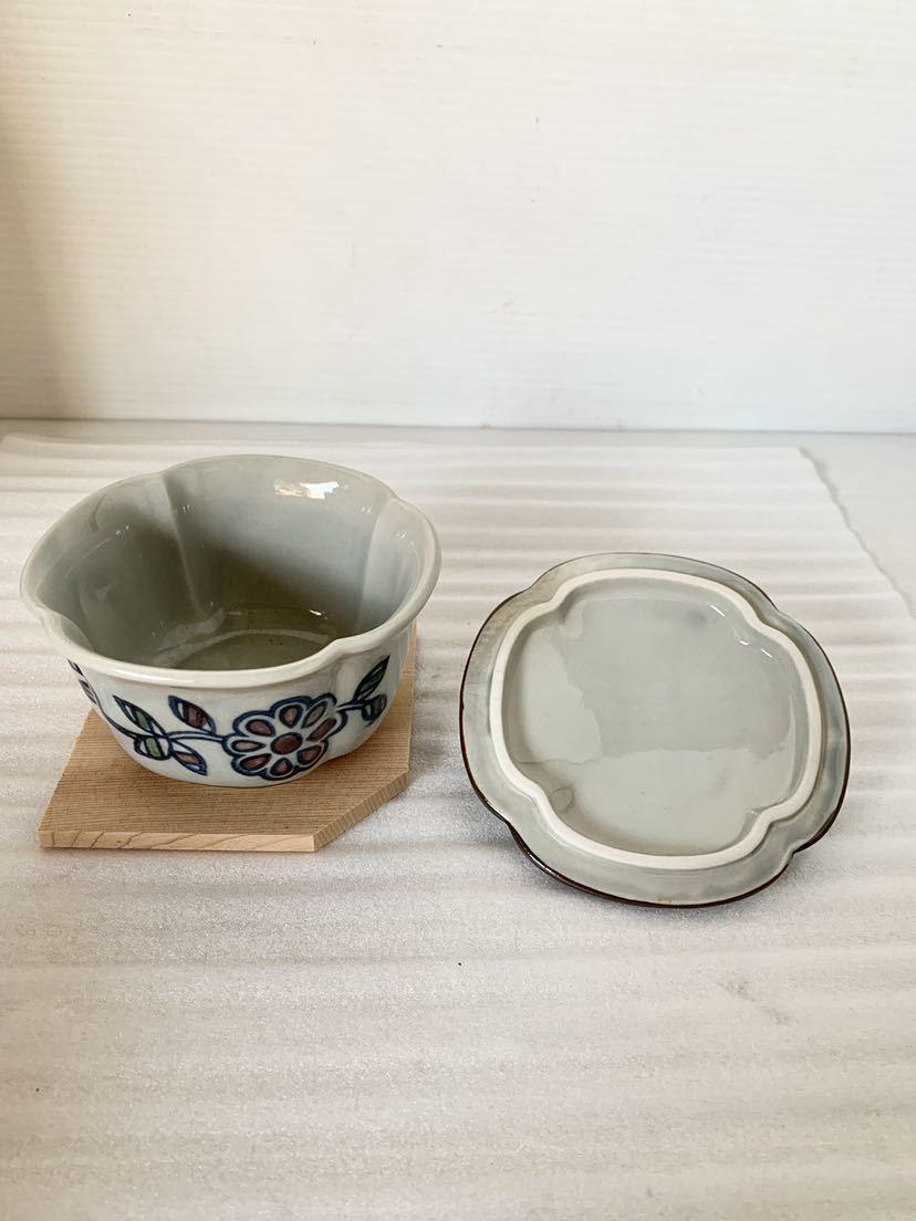 ★1円スタート!小鉢 茶碗蒸し器 雅 グラタン 小鉢 蓋物 雑煮 おしるこにも☆_画像2