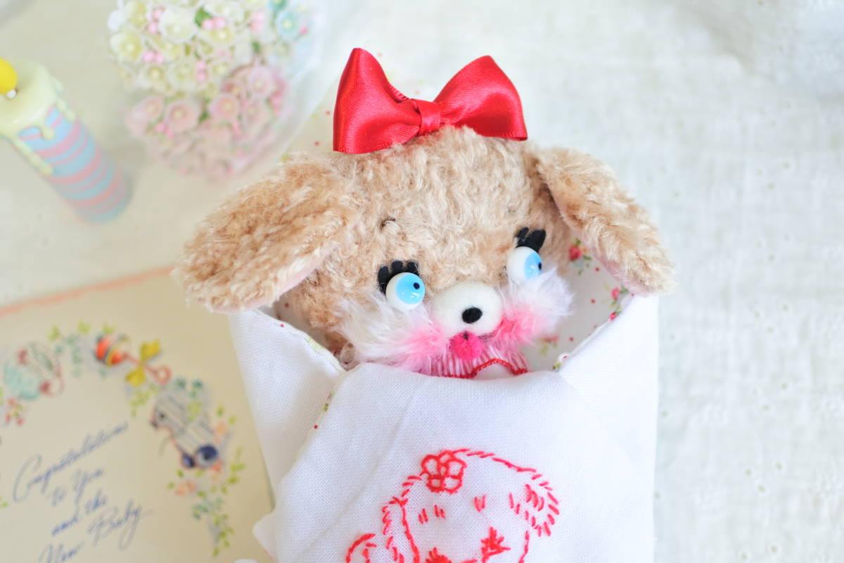 milk* mascot おくるみpuppyちゃん ぬいぐるみ カスタムブライス ラバードール   _画像3