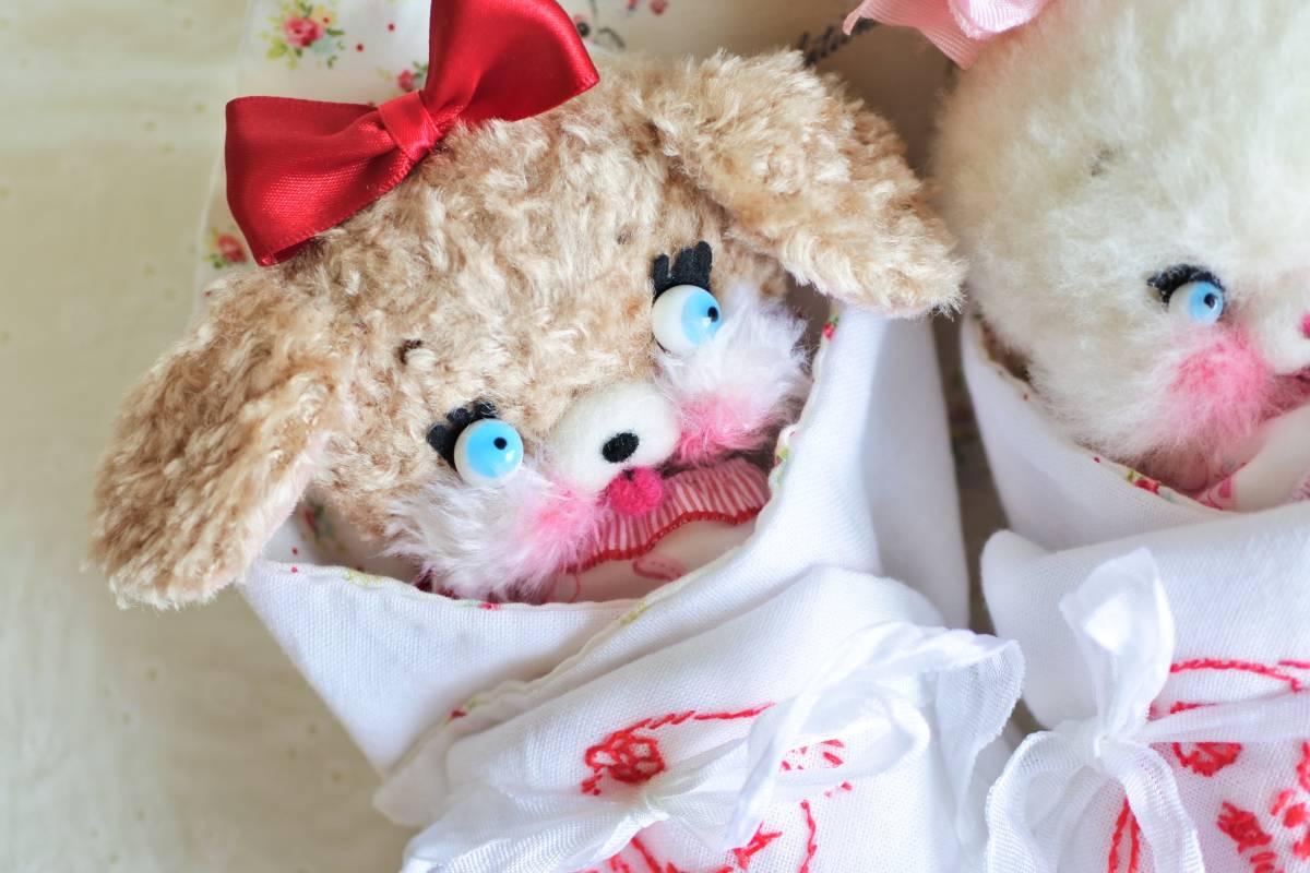 milk* mascot おくるみpuppyちゃん ぬいぐるみ カスタムブライス ラバードール   _画像5