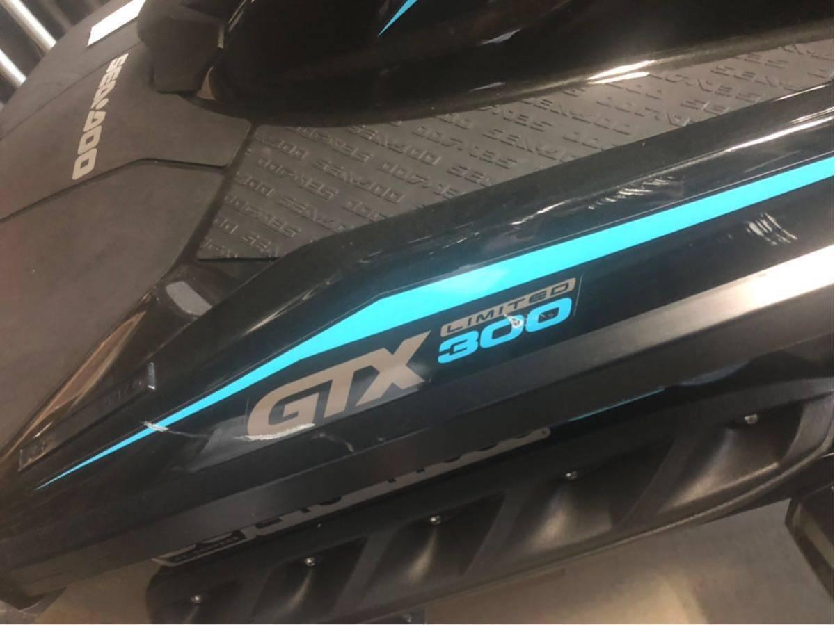 SEA-DOO GTX300 29年式 17hr トレーラーセットシードュー_画像5