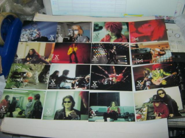X JAPAN エックス / ~X-JAPANの軌跡~ トレーディングカード16枚まとめてYOSHIKI TOSHI HIDE TAIJI PATA _画像1