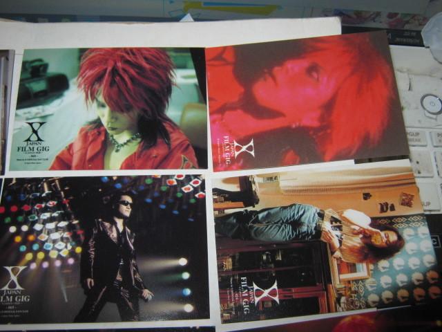 X JAPAN エックス / ~X-JAPANの軌跡~ トレーディングカード16枚まとめてYOSHIKI TOSHI HIDE TAIJI PATA _画像3