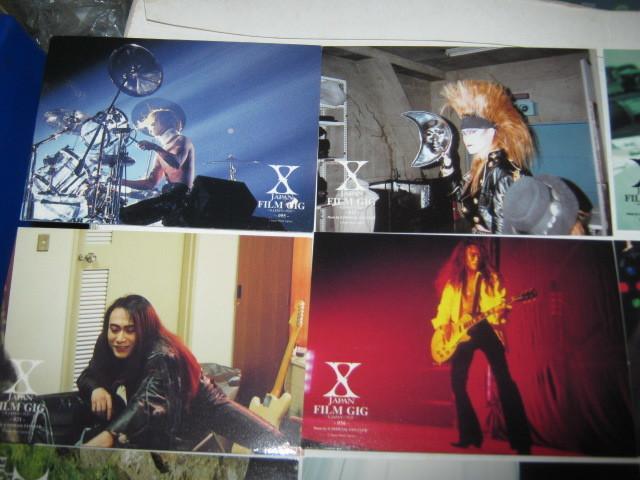 X JAPAN エックス / ~X-JAPANの軌跡~ トレーディングカード16枚まとめてYOSHIKI TOSHI HIDE TAIJI PATA _画像2
