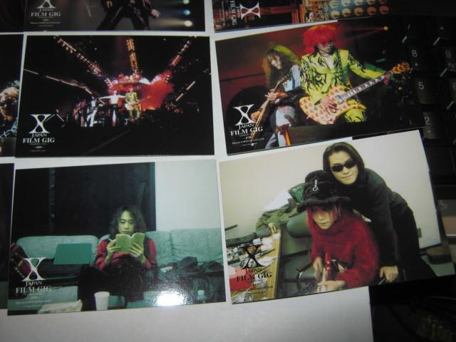 X JAPAN エックス / ~X-JAPANの軌跡~ トレーディングカード16枚まとめてYOSHIKI TOSHI HIDE TAIJI PATA _画像5
