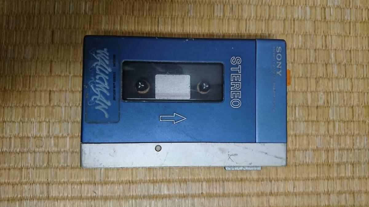 ソニー 初代ウォークマン TPS-L2 通電のみ 回転せず。