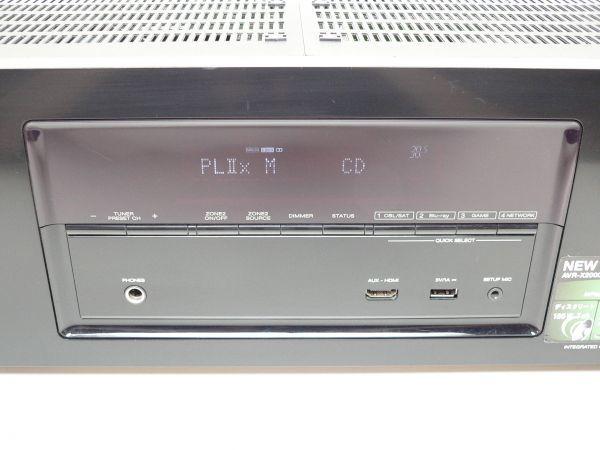 552A@ DENON 7.1ch AVサラウンドレシーバー AVR-X2000 / デノン デンオン_画像5