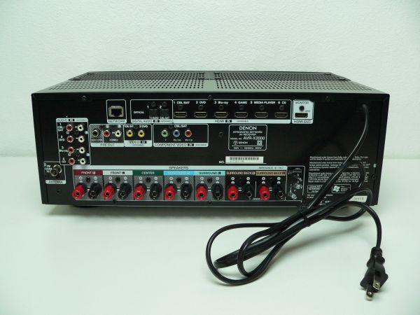 552A@ DENON 7.1ch AVサラウンドレシーバー AVR-X2000 / デノン デンオン_画像4