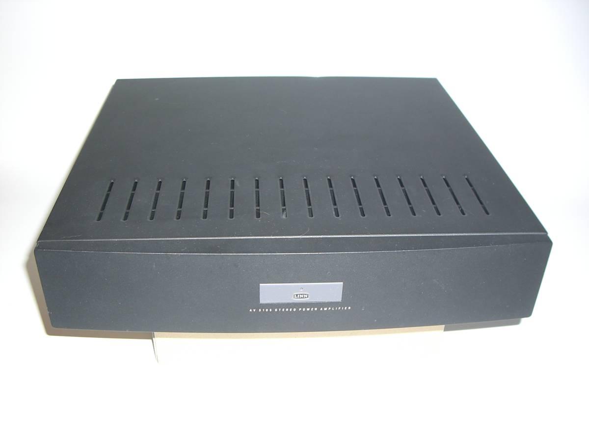 LINN パワーアンプ AV5105 _画像2