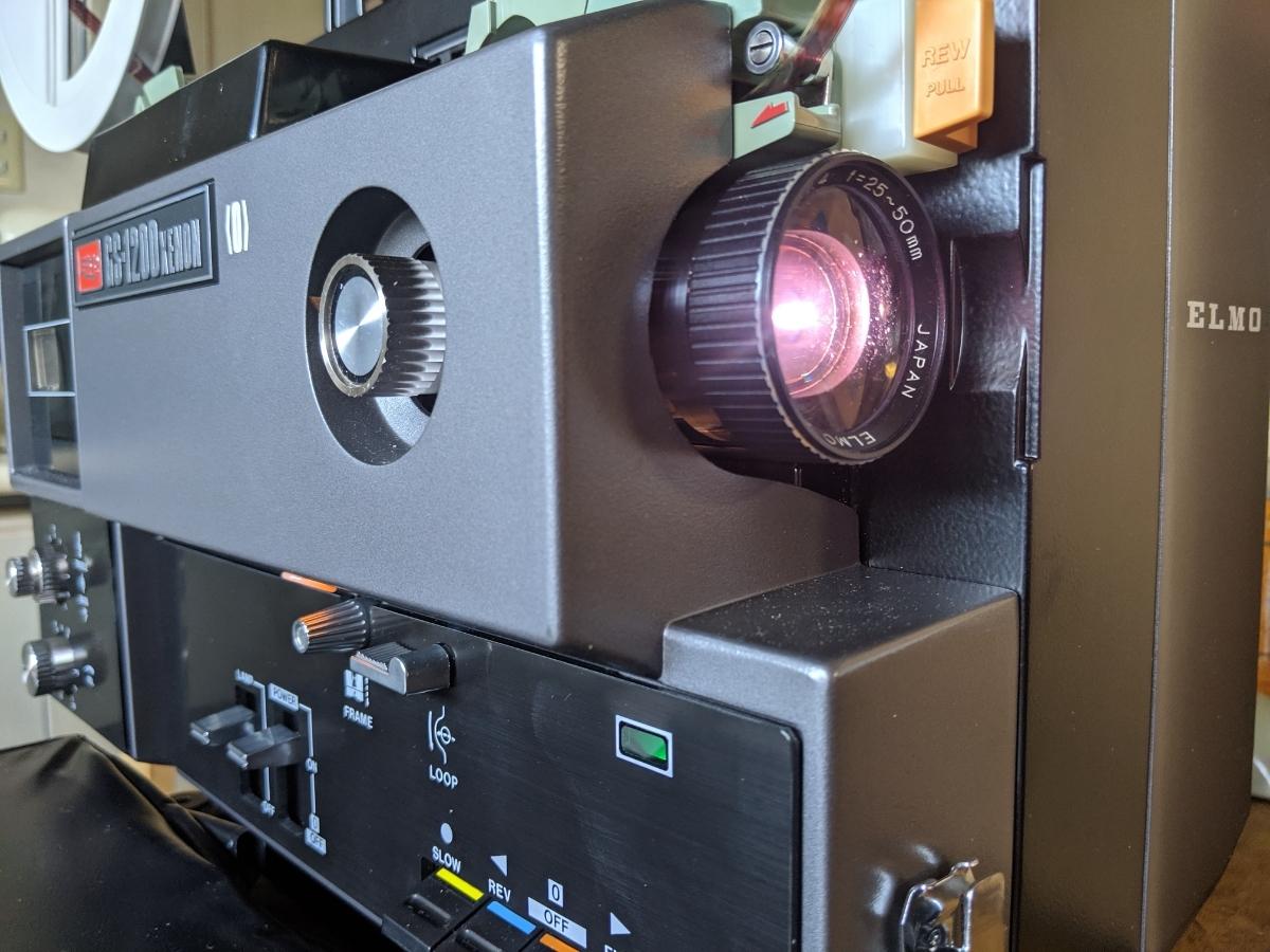 エルモ GS-1200 キセノン 光学 映写機