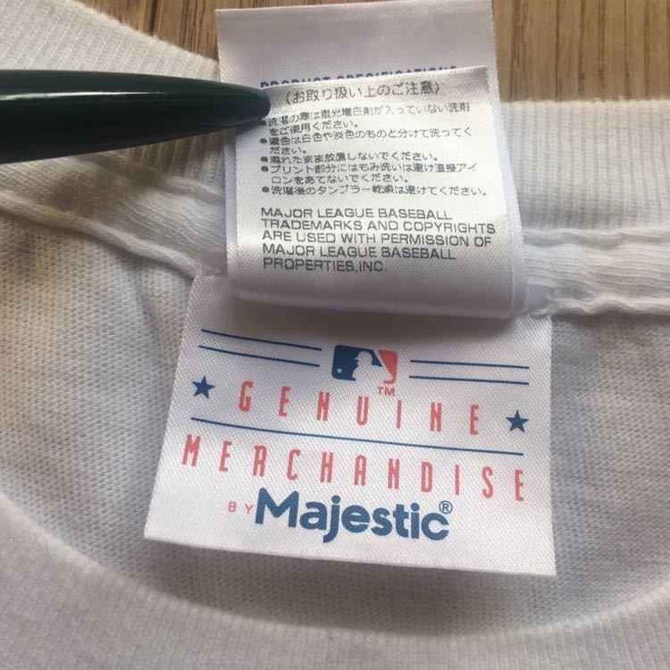 M.V.P. × BBP BX × Majestic Athletics NEW YORK NEW YORK トリプルコラボTシャツ Lサイズ DJ MURO A-1 CLOTHING GRAND MASTER FLASH_画像6
