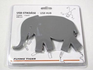 ● USB HUB unused products FLYING TIGER elephant