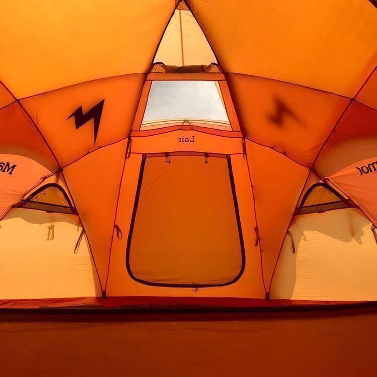 希少!Marmot Lair8P マーモット レア 8人用ドームテント (検索) MSR MOSS ヒルバーグ スノーピーク _画像6