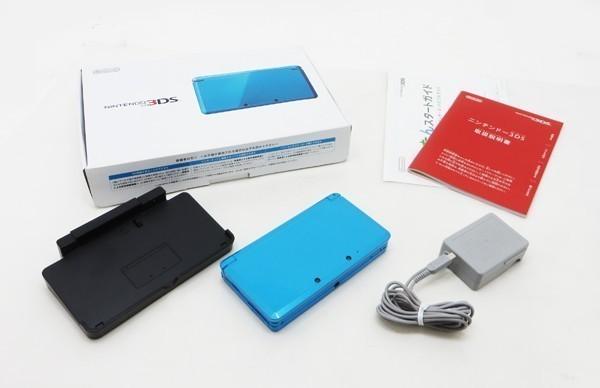 【本体新品同様】 ニンテンドー 3DS 本体 ライトブルー 希少_画像4