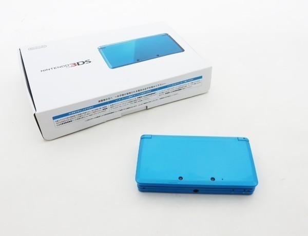 【本体新品同様】 ニンテンドー 3DS 本体 ライトブルー 希少_画像5