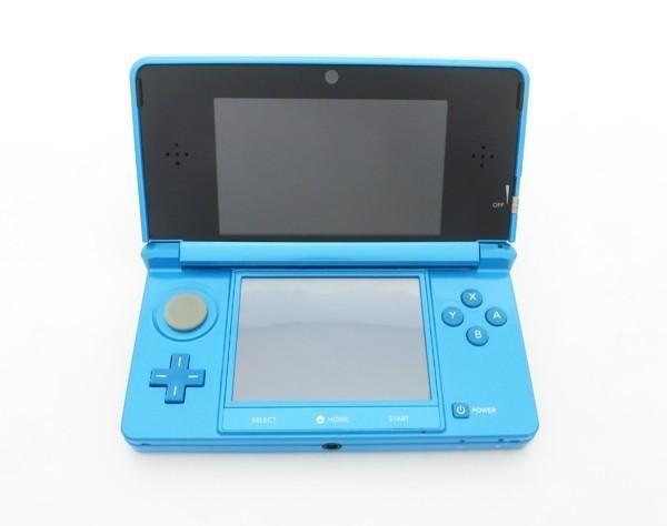 【本体新品同様】 ニンテンドー 3DS 本体 ライトブルー 希少_画像6
