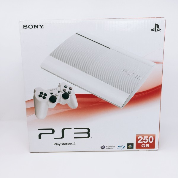 【新品同様】 PS3 250GB 本体 CECH-4200BLW クラシック ホワイト PlayStation 3希少