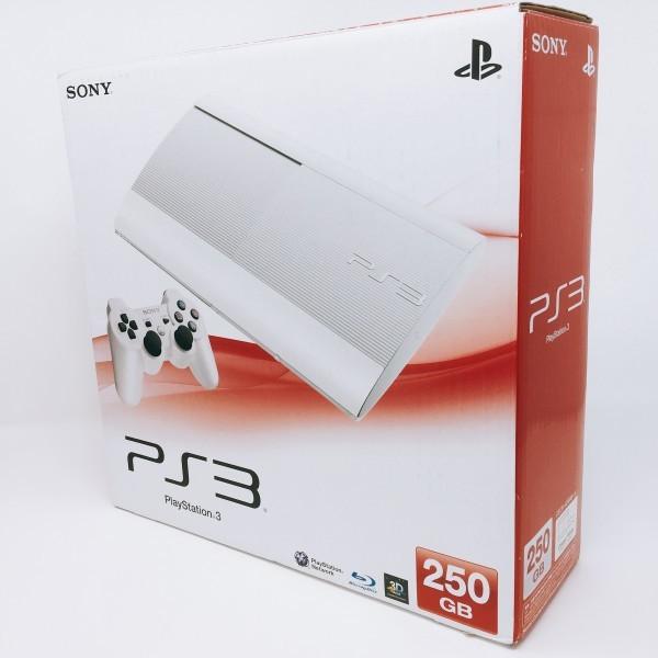 【新品同様】 PS3 250GB 本体 CECH-4200BLW クラシック ホワイト PlayStation 3希少_画像2