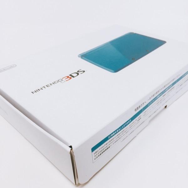 【本体新品同様】 ニンテンドー 3DS 本体 ライトブルー 希少_画像2
