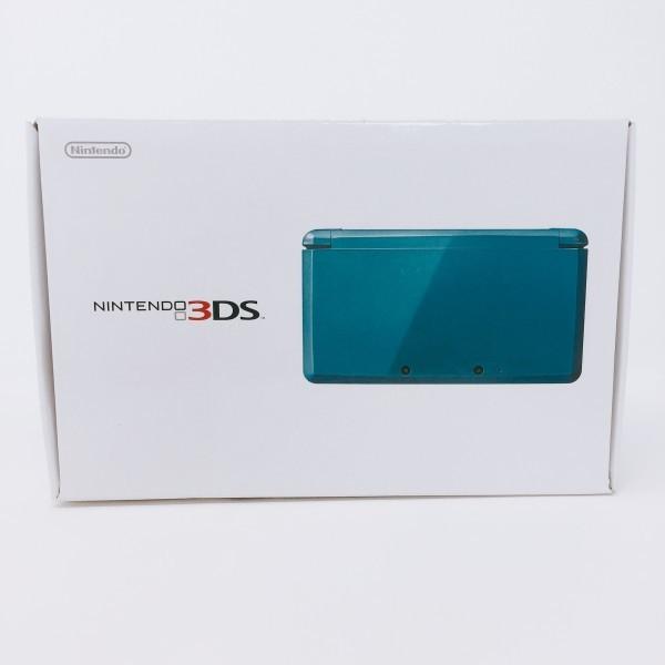 【本体新品同様】 ニンテンドー 3DS 本体 ライトブルー 希少