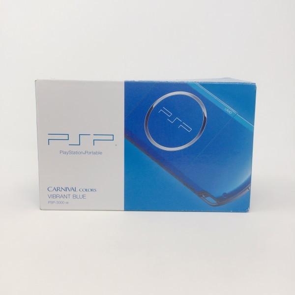 【新品同様】 PSP-3000 PSP 本体 バイブラント・ブルー PSP-3000VB 希少 店頭展示品