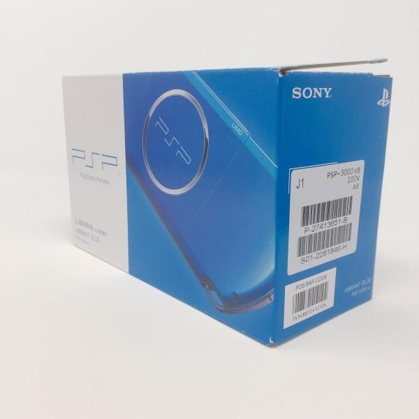 【新品同様】 PSP-3000 PSP 本体 バイブラント・ブルー PSP-3000VB 希少 店頭展示品_画像2